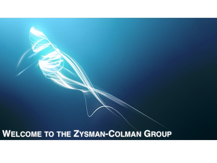 Welcome to the Zysman-Colman Group