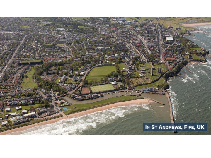 Beautiful St Andrews, Fife, UK