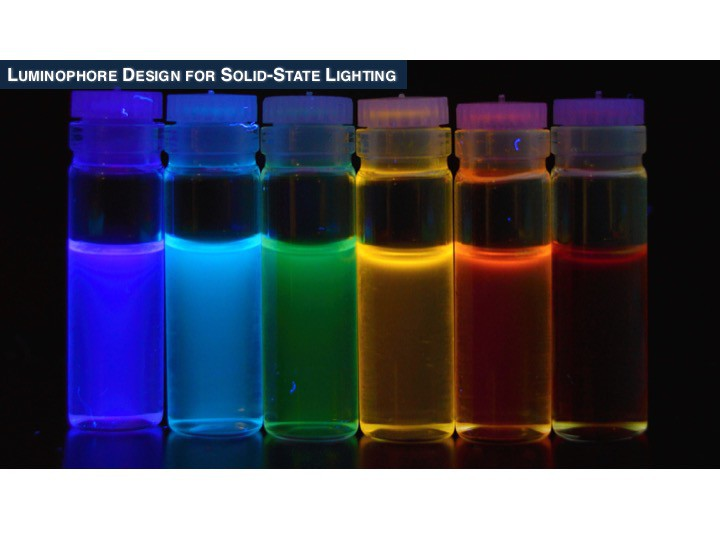 Luminophore Design for solid-state lighting